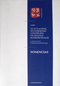 As Actuacions no Patrimonio Construido